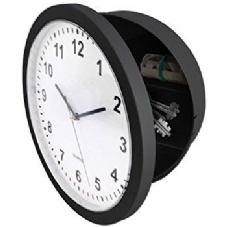 Wall Clock Safe Container